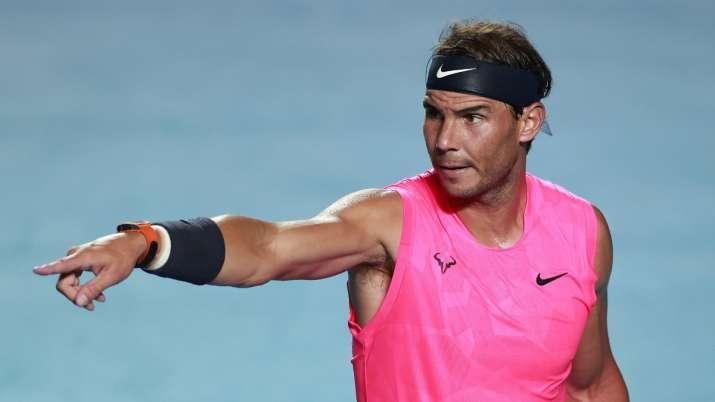 Spain tennis star RafaelNadal