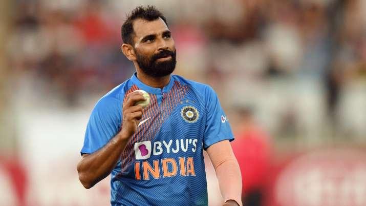 Indian fast bowler Mohammed Shami