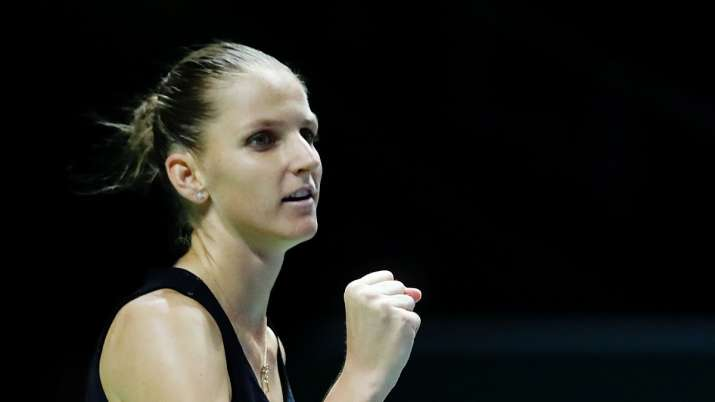 Pliskova is ranked third in the world but has the top seed