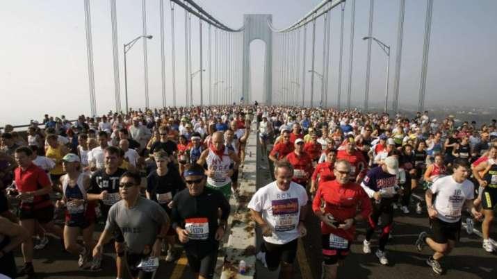 The New York City Marathon scheduled for Nov. 1, 2020, has
