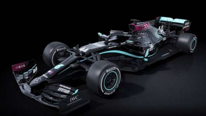 Mercedes unveil black-liveried cars