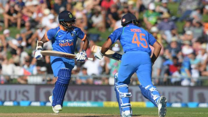Shikhar Dhawan and Rohit Sharma