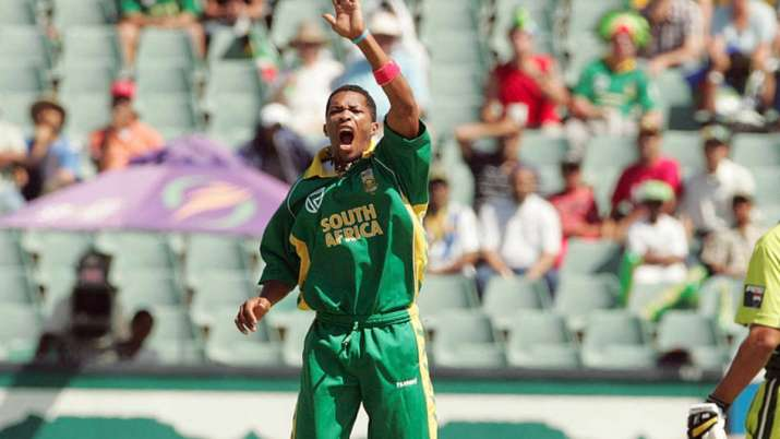 Former South Africa pacer Makhaya Ntini