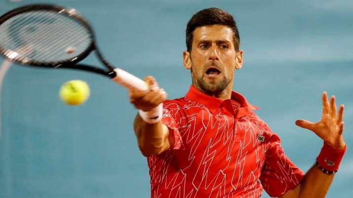 World No.1 Novak Djokovic