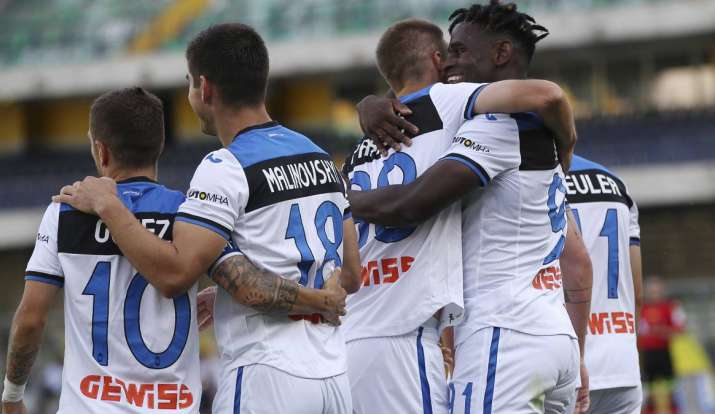 Despite the draw, Atalanta secured a place in next