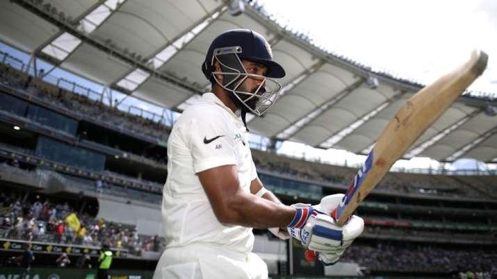 Senior India batsman Ajinkya Rahane