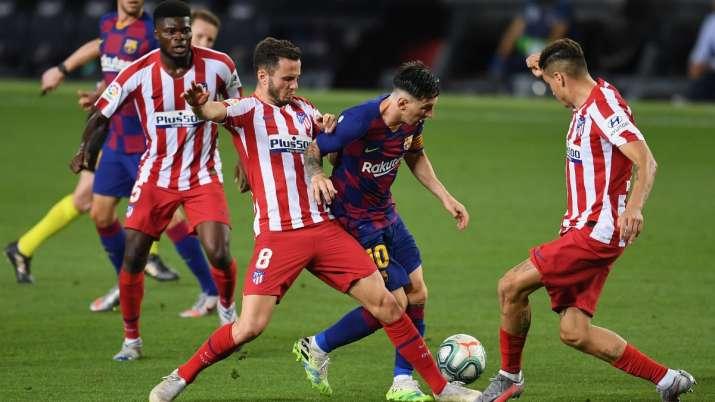 La Liga: Lionel Messi scores 700th goal, Barcelona held 2-2 by Atletico Madrid