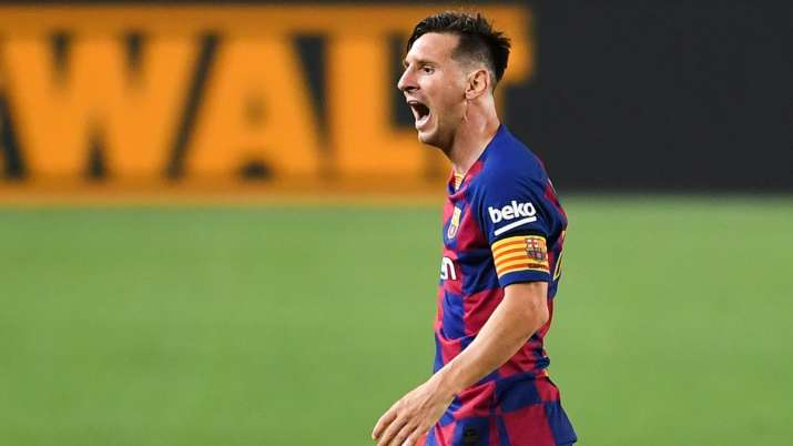 Lionel Messi now has 25 goals, four more than striker