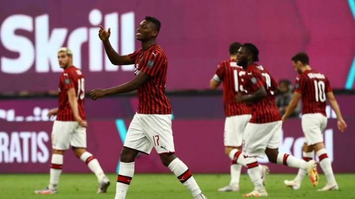 AC Milan has not played in the Champions League since 2014