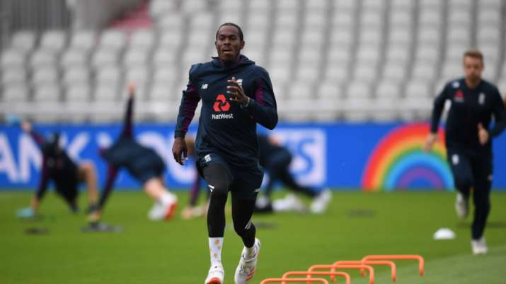 jofra archer, michael vaughan, jofra archer england, jofra archer england vs west indies