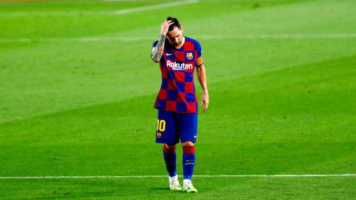 lionel messi, barcelona, fc barcelona, napoli, la liga, la liga 2019-20
