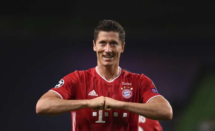 Bayern Munich and Poland striker Robert Lewandowski
