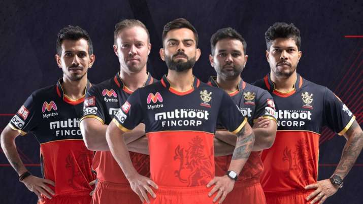 Royal Challengers Bangalore unveil new-look jersey
