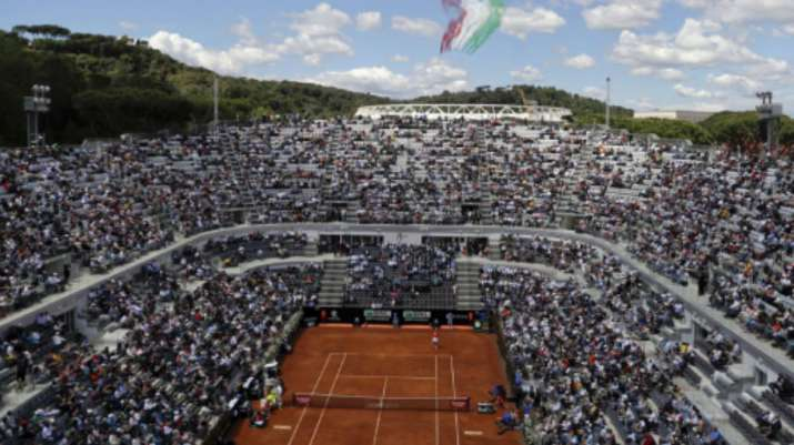 The clay-court tournament in Rome is taking over the week