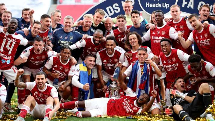 Pierre-Emerick Aubameyang double helps Arsenal beat Chelsea 2-1 to win FA Cup title