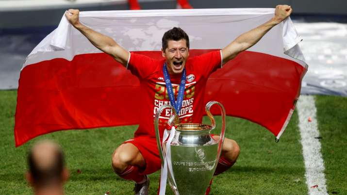 Never give up when you fail: Robert Lewandowski finally gets to lift Champions League trophy