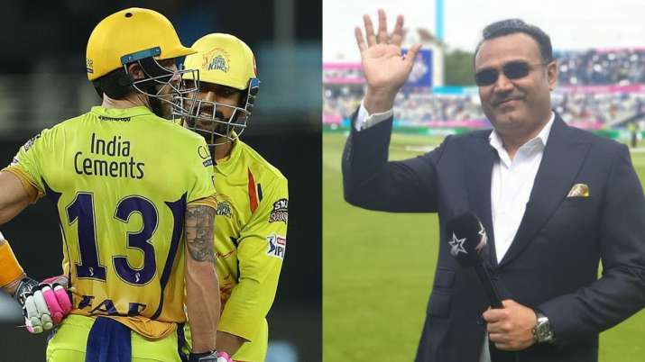 Virender Sehwag takes a dig at CSK's faltering campaign