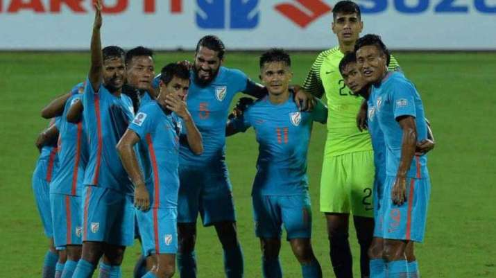 indian football team fifa rankings aiff