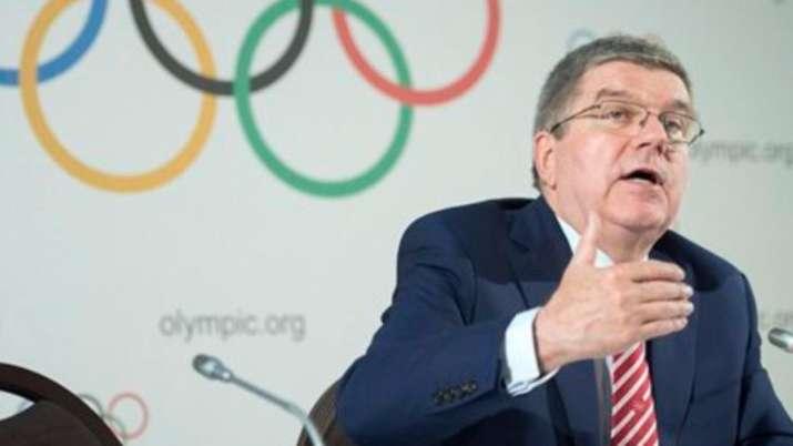 IOC president thomas bach 2021 tokyo olympics