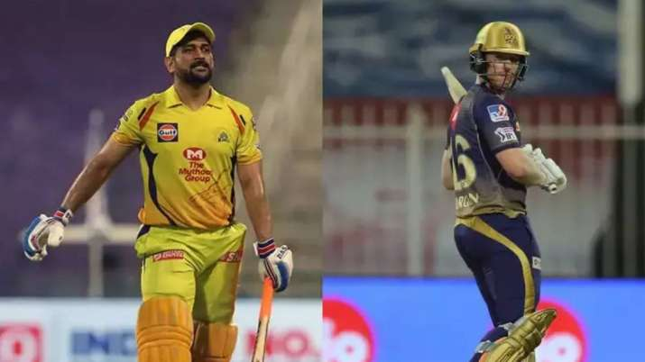 csk vs kkr toss ipl 2020 ms dhoni eoin morgan