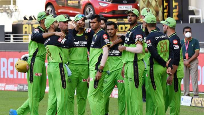 RCB wear the green jersey once every season since 2011 as