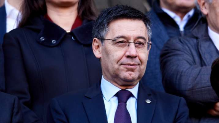 Bartomeu announced that his entire board of directors also resigned, effectively avoiding a motion o