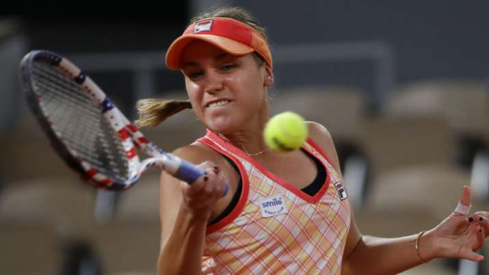 sofia kenin french open
