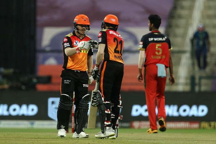 SRH skipper David Warner