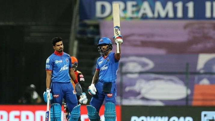 DC vs SRH | Shikhar Dhawan records his most prolific IPL ...