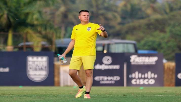 Mumbai City boss Sergio Lobera