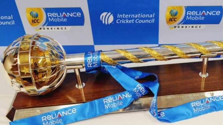 ICC World Test Championship mace