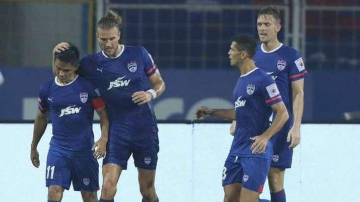 Bengaluru FC clip Kerala Blasters wings in six-goal thriller