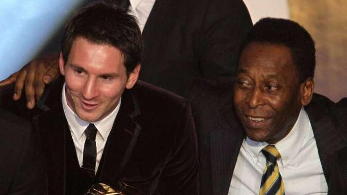 Lionel Messi Pele.