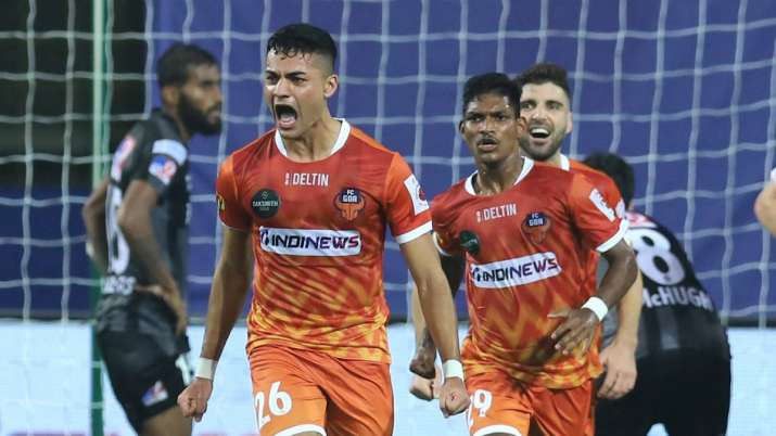 A late equaliser by youngster Ishan Pandita helped FC Goa