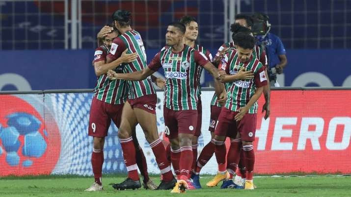 ATK Mohun Bagan started off with a more positive intent and