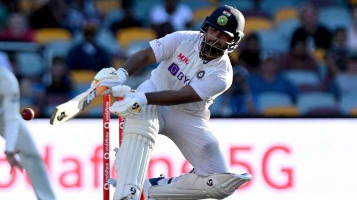 Rishabh Pant against Australia