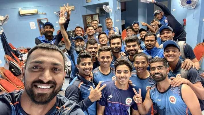 Baroda stun Haryana by 8 wickets to reach Syed Mushtaq Ali