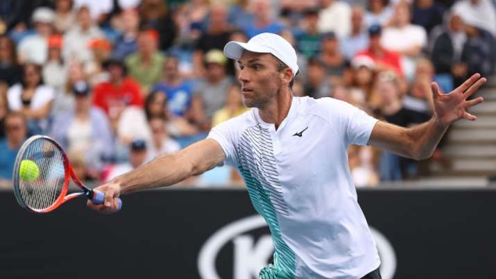 Karlovic, who turns 42 next month, is the oldest to win on the top men's tour since Jimmy Connors at