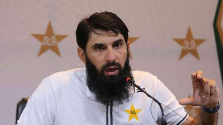 Pakistan head coach Misbah-ul-Haq