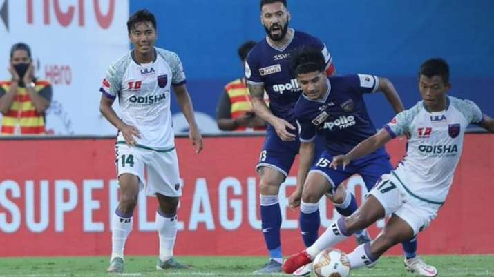 Odisha and Chennaiyin trade missed chances, play out