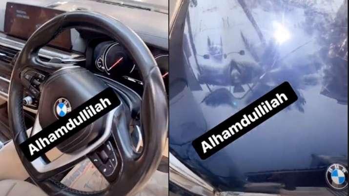 Mohammed Siraj's car