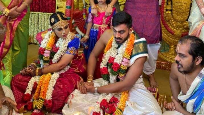 Vijay Shankar wedding