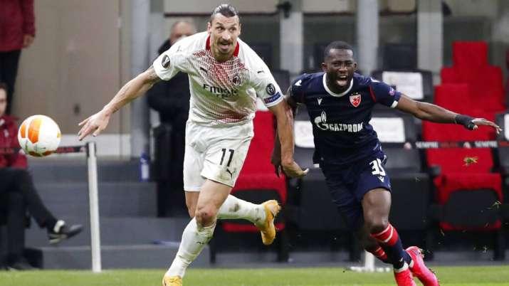 Milan star Zlatan Ibrahimovic