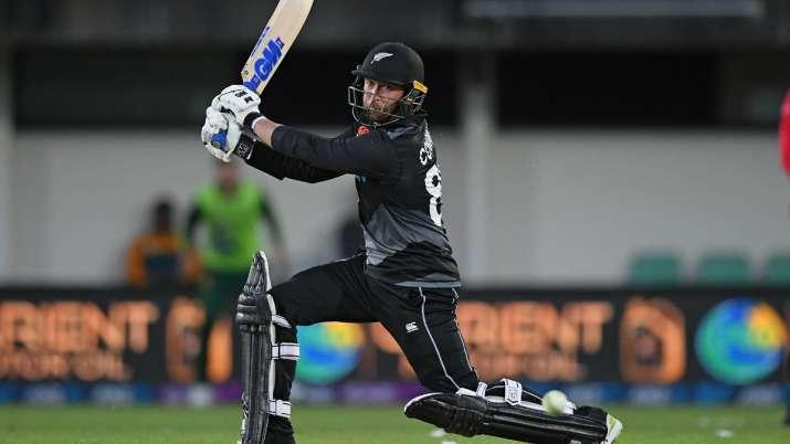 New Zealand's Devon Conway