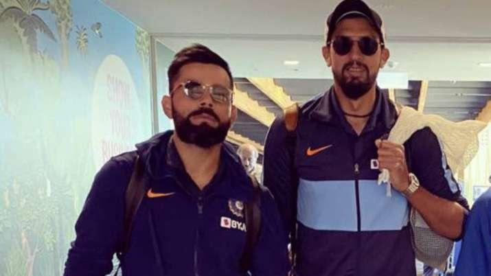 Virat Kohli and Ishant Sharma