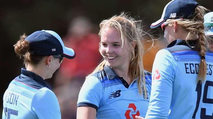 Spinner Sophie Ecclestone and fast bowler Tash Farrant took