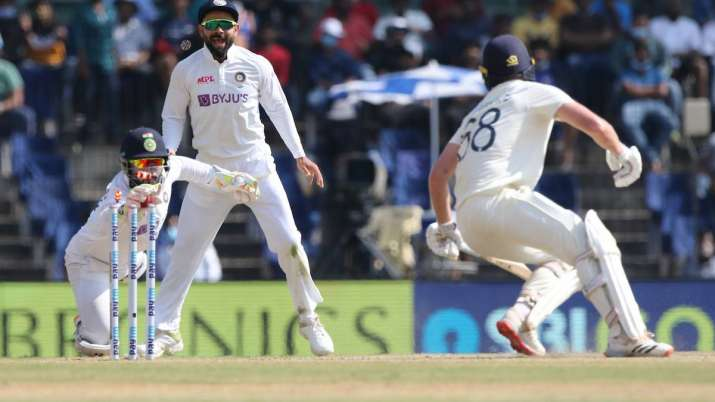 Rishabh Pant against England