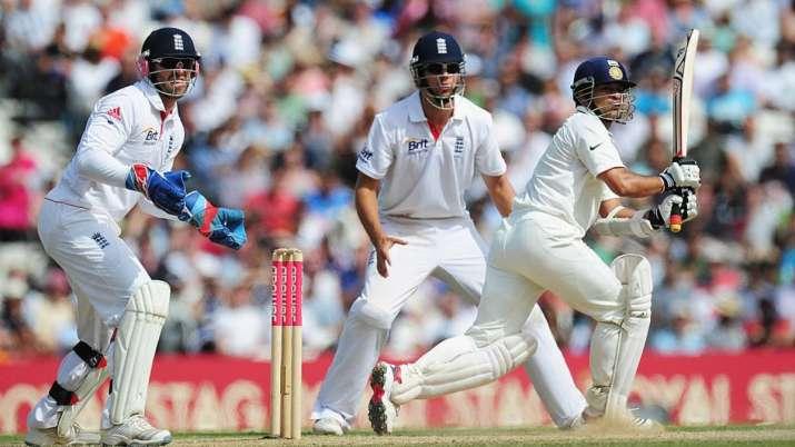 Sachin Tendulkar, Alastair Cook and Matt Prior