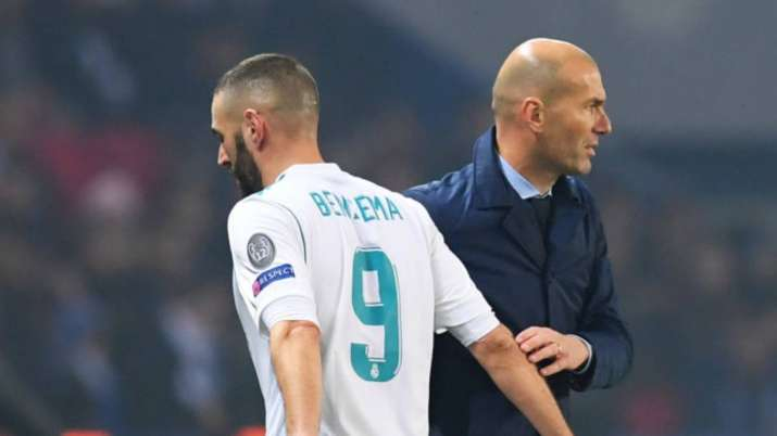 Karim Benzema, Zinedine Zidane.