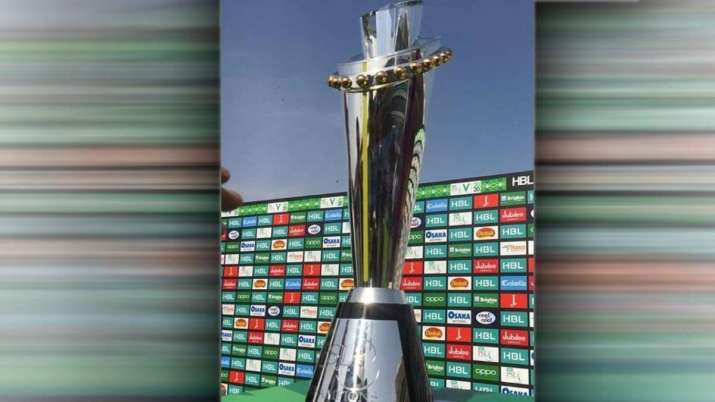 Pakistan Super League 2021 trophy